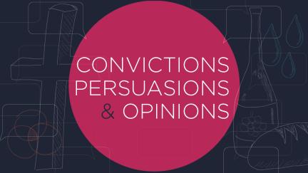 Déclarations de culpabilité contre Persuasions vs Opinions